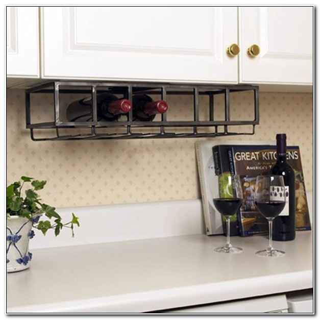 Under Counter Wine Rack