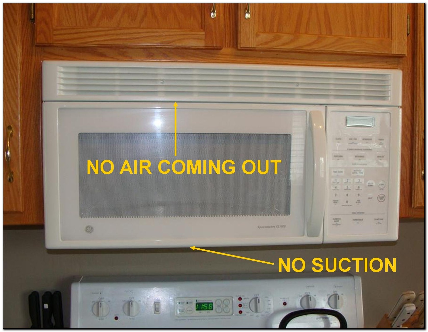 Under The Cabinet Microwave With Exhaust Fans