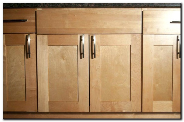 Unfinished Maple Shaker Cabinet Doors