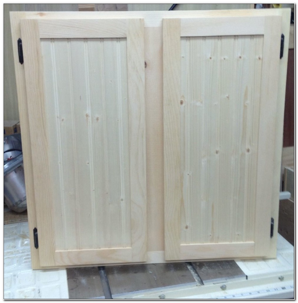 Unfinished Shaker Kitchen Cabinet Doors
