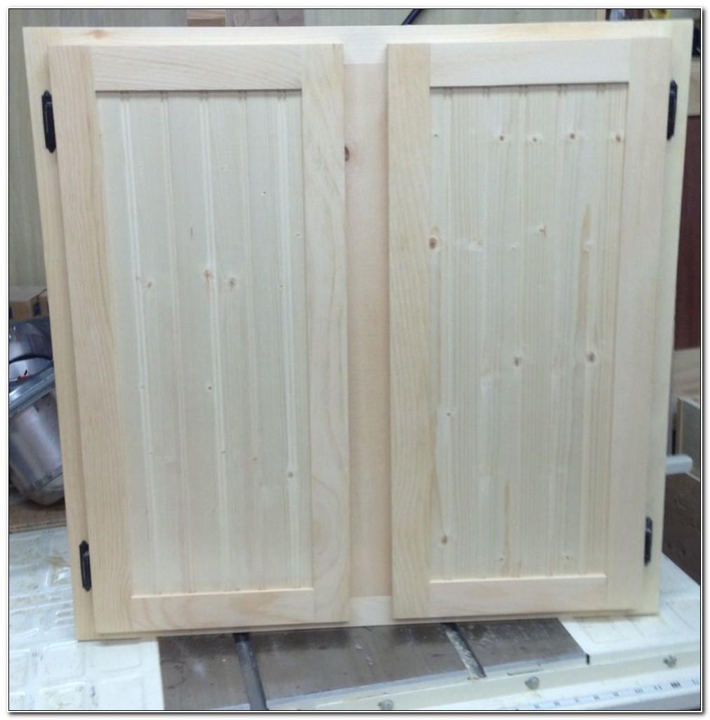 Unfinished Shaker Kitchen Cabinet Doors
