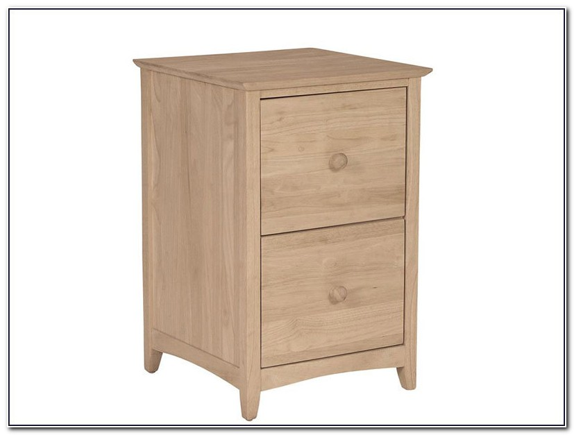 Unfinished Wood File Cabinet Lateral