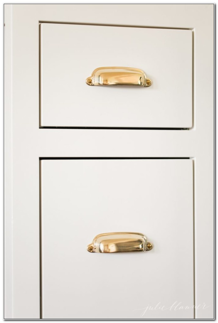 Unlacquered Brass Cabinet Hinges