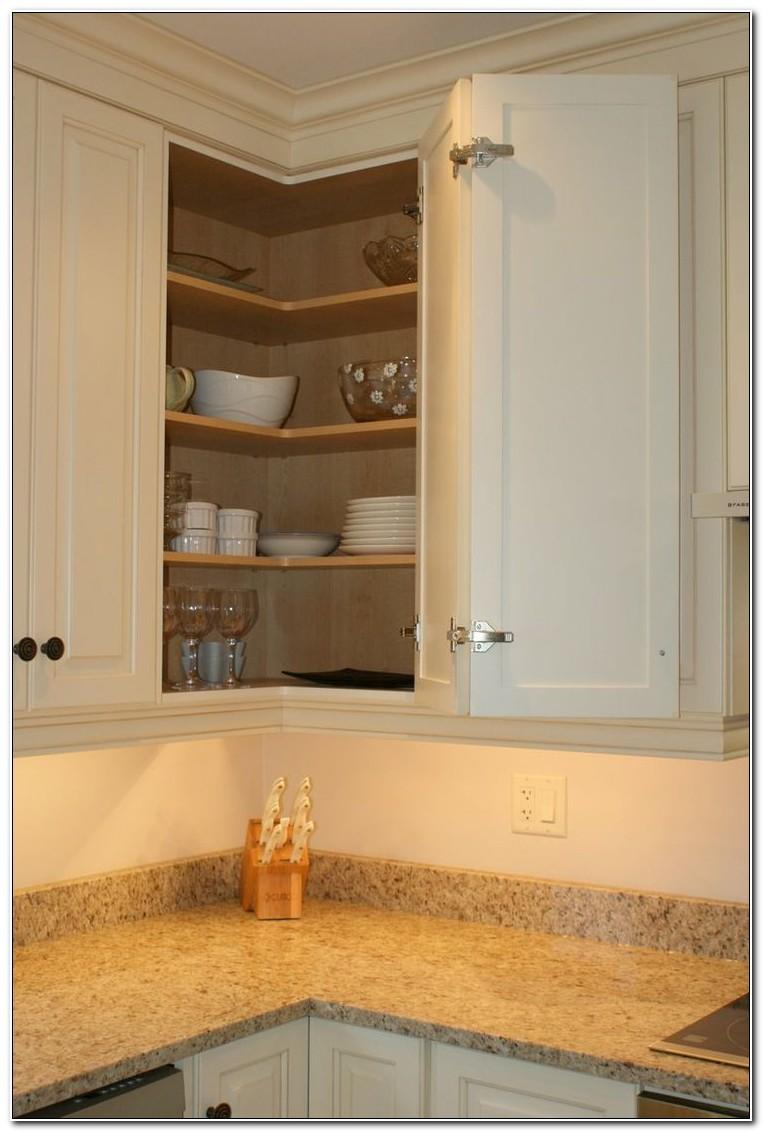 Upper Corner Kitchen Cabinet Storage Ideas