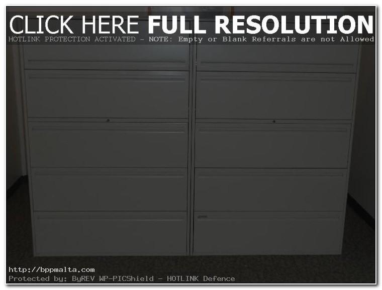 Used 5 Drawer Metal File Cabinet