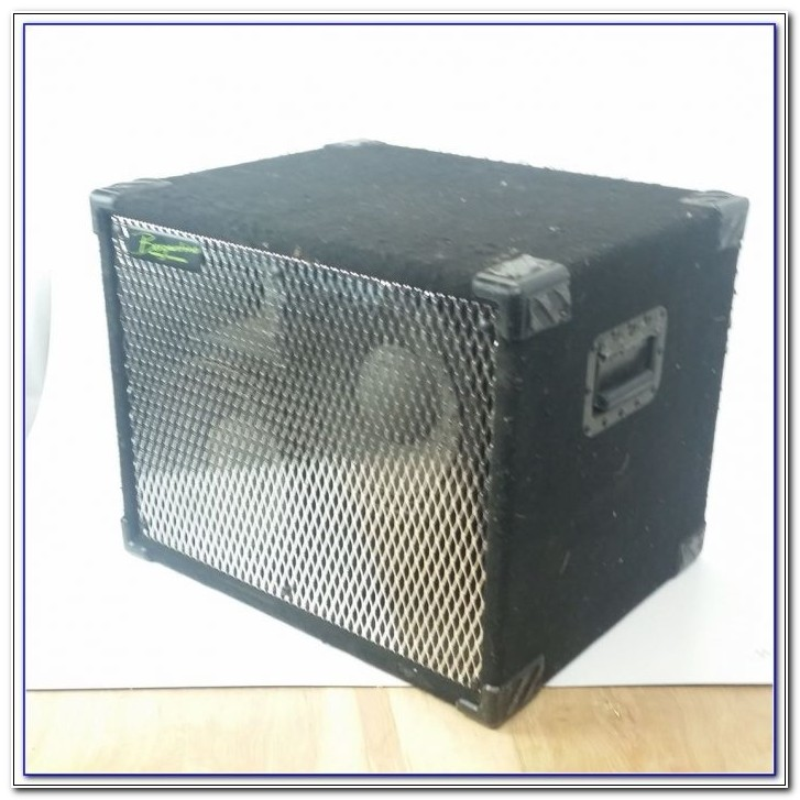 Used 8 Ohm Bass Cabinet