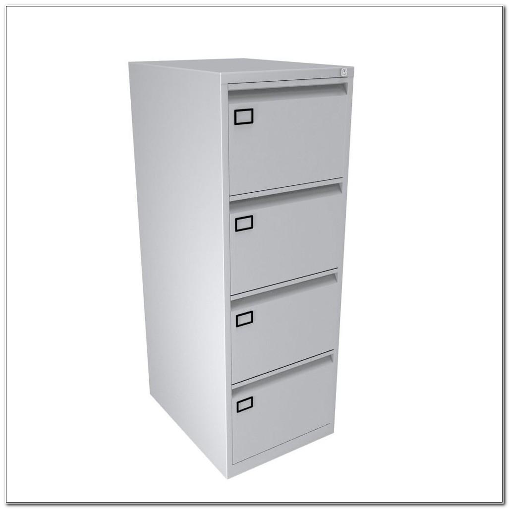 Used Bisley 4 Drawer Filing Cabinet