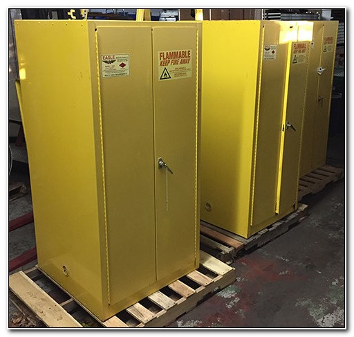 Used Flammable Storage Cabinet