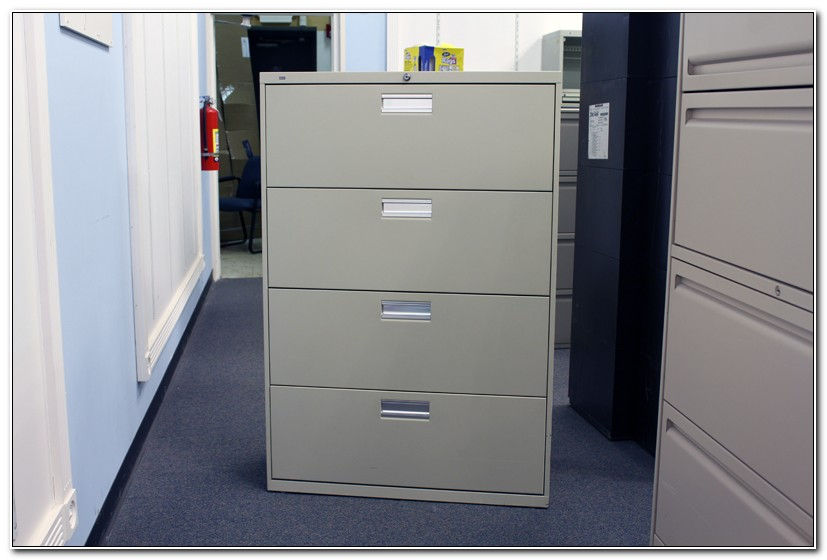 Used Hon 4 Drawer Lateral File Cabinets