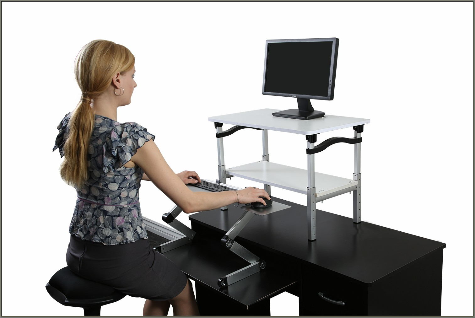 Adjustable Computer Stand For Desk