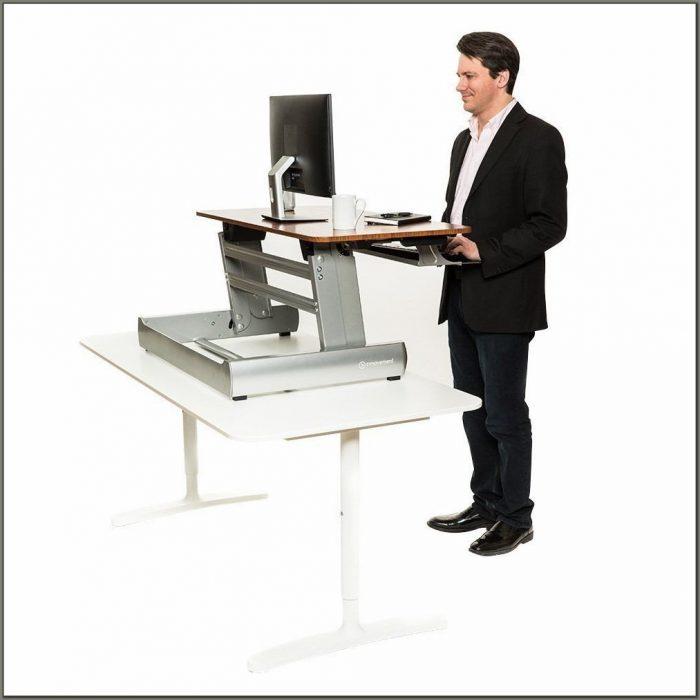 Adjustable Desk For Standing Or Sitting