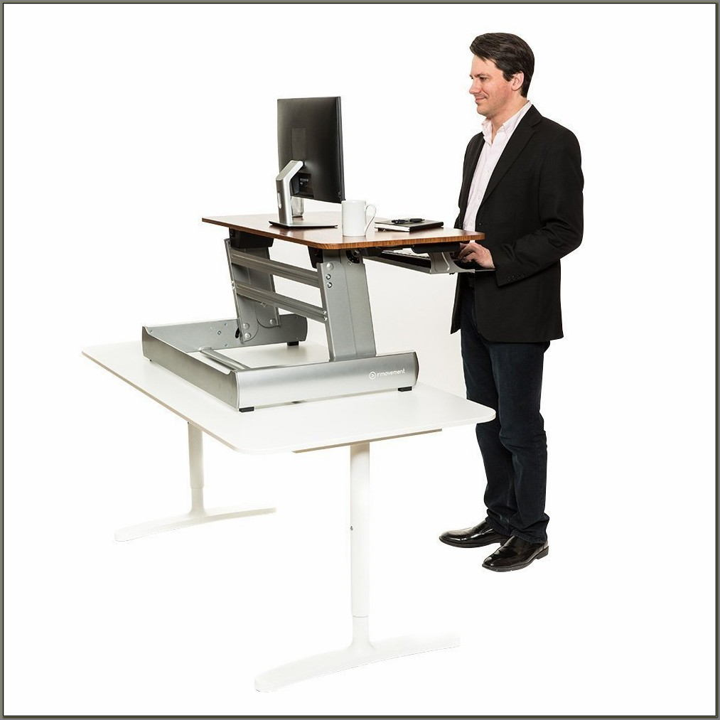 Adjustable Desk For Standing Or Sitting