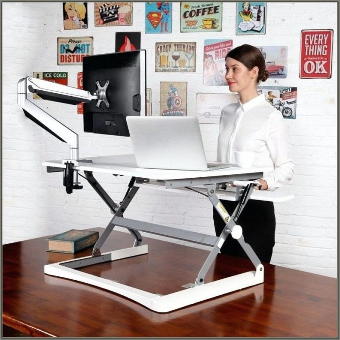 Adjustable Desks For Standing Or Sitting