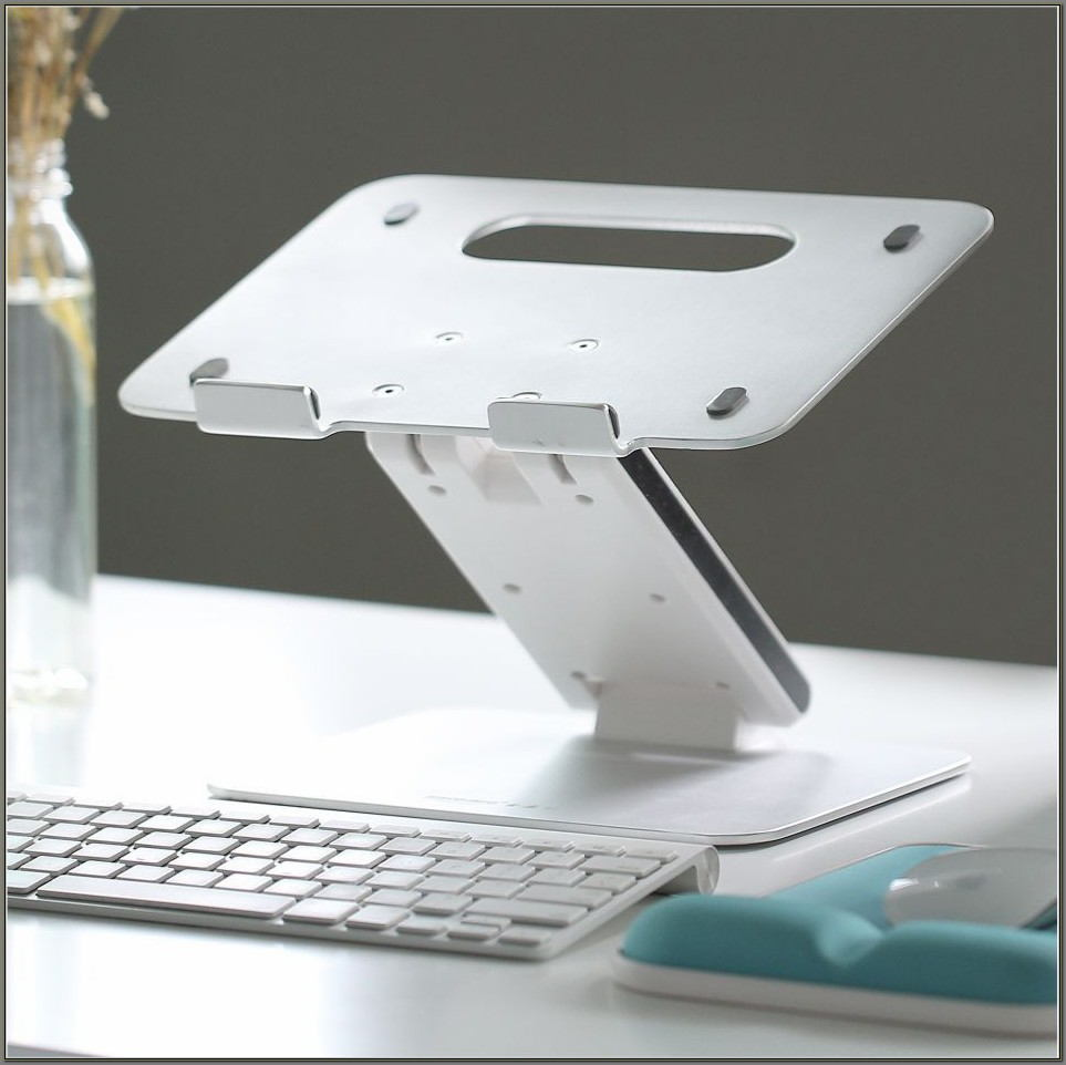 Adjustable Height Laptop Stand For Desk