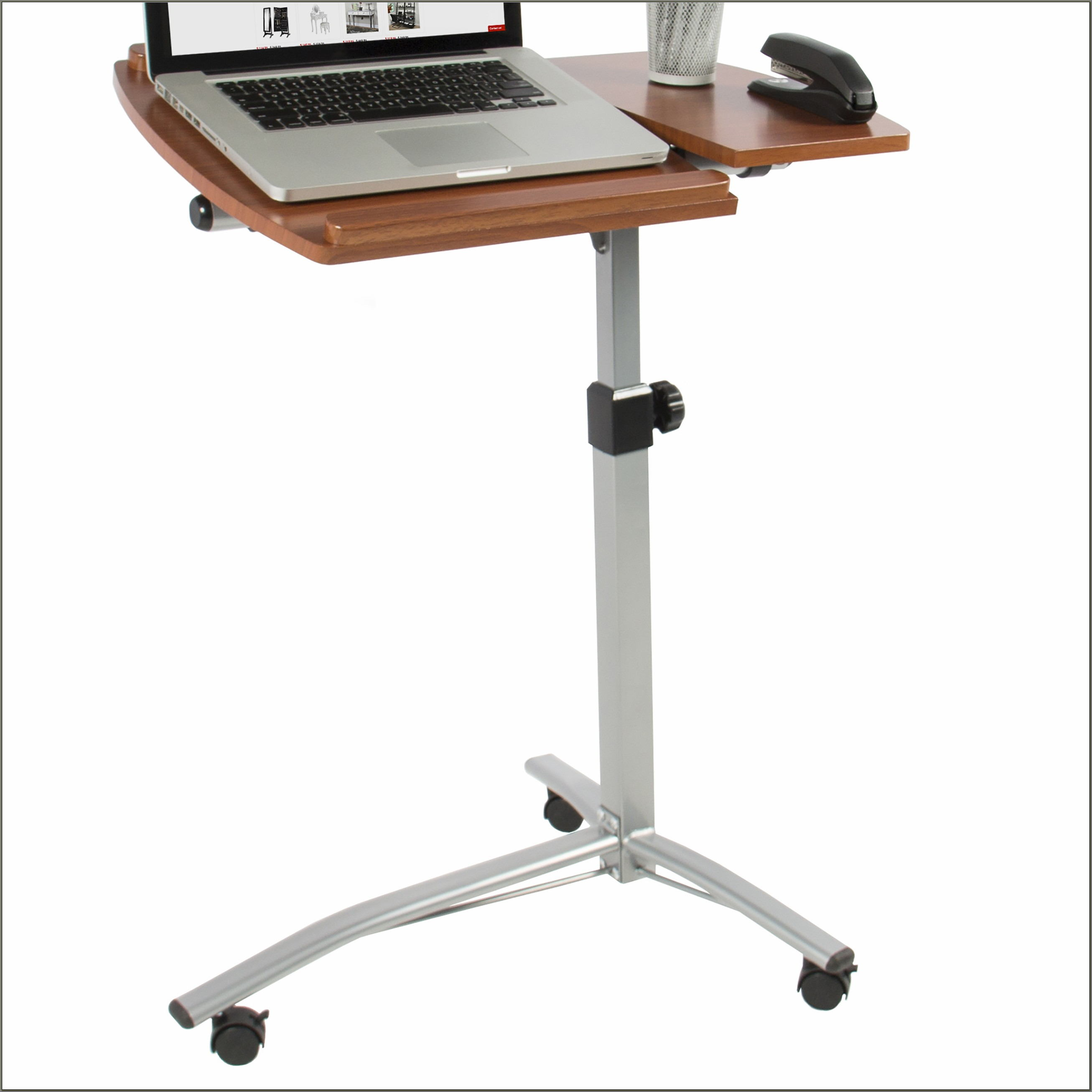 Adjustable Mobile Rolling Laptop Desk