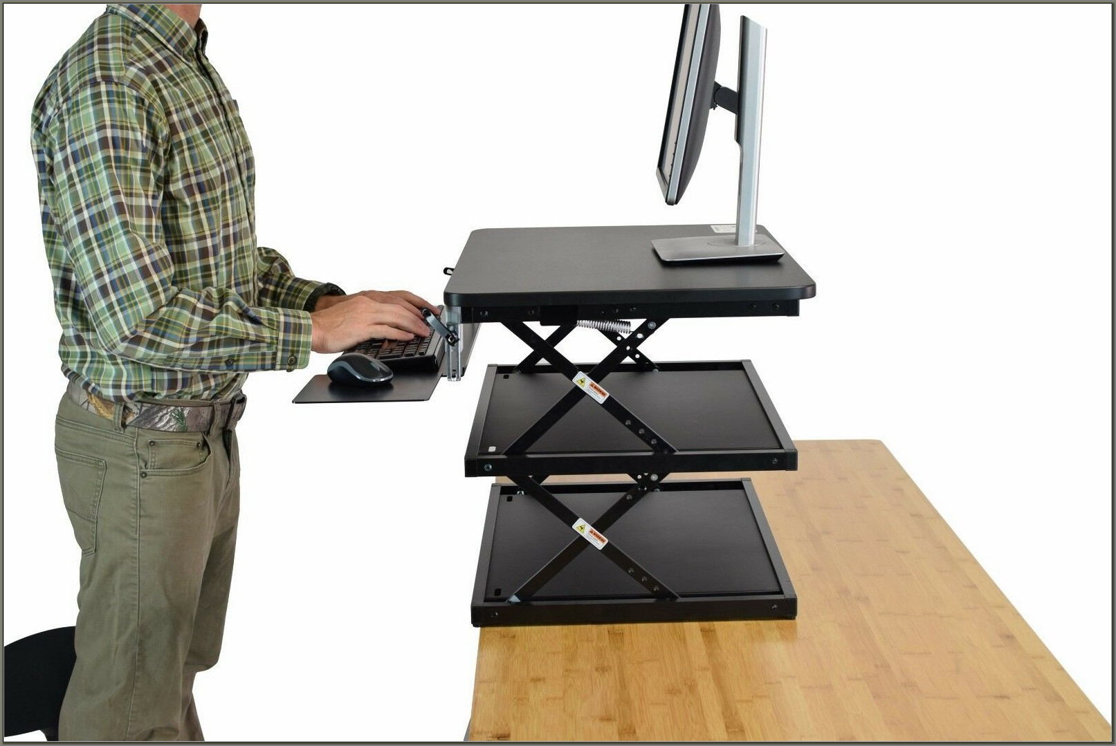 Adjustable Stand Up Desk Topper