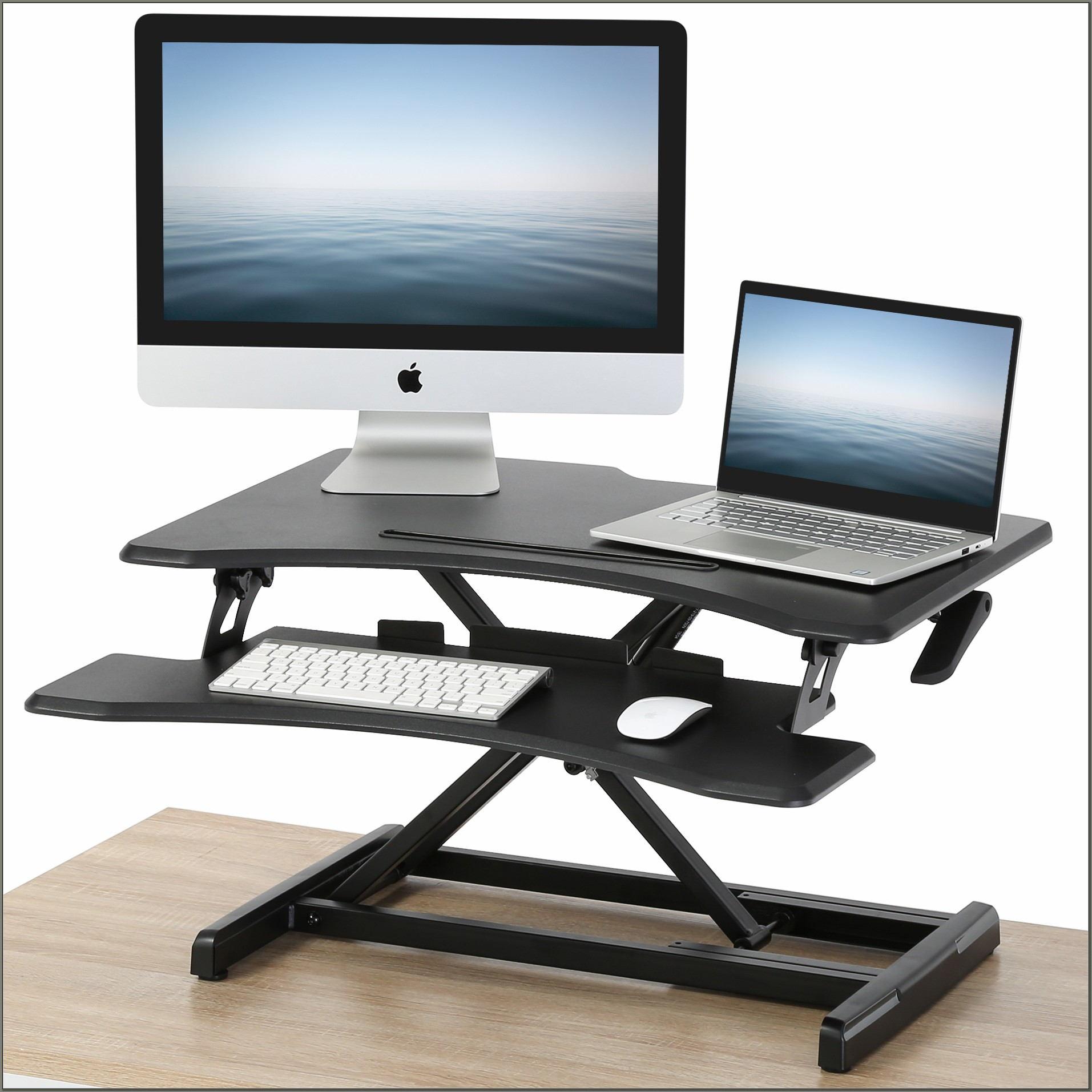 Adjustable Standing Desk Converter Walmart