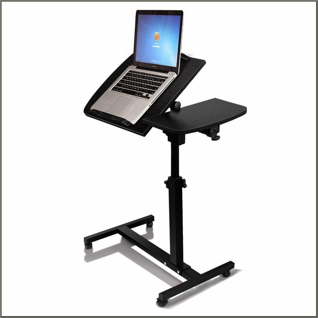 Adjustable Standing Desk On Wheels