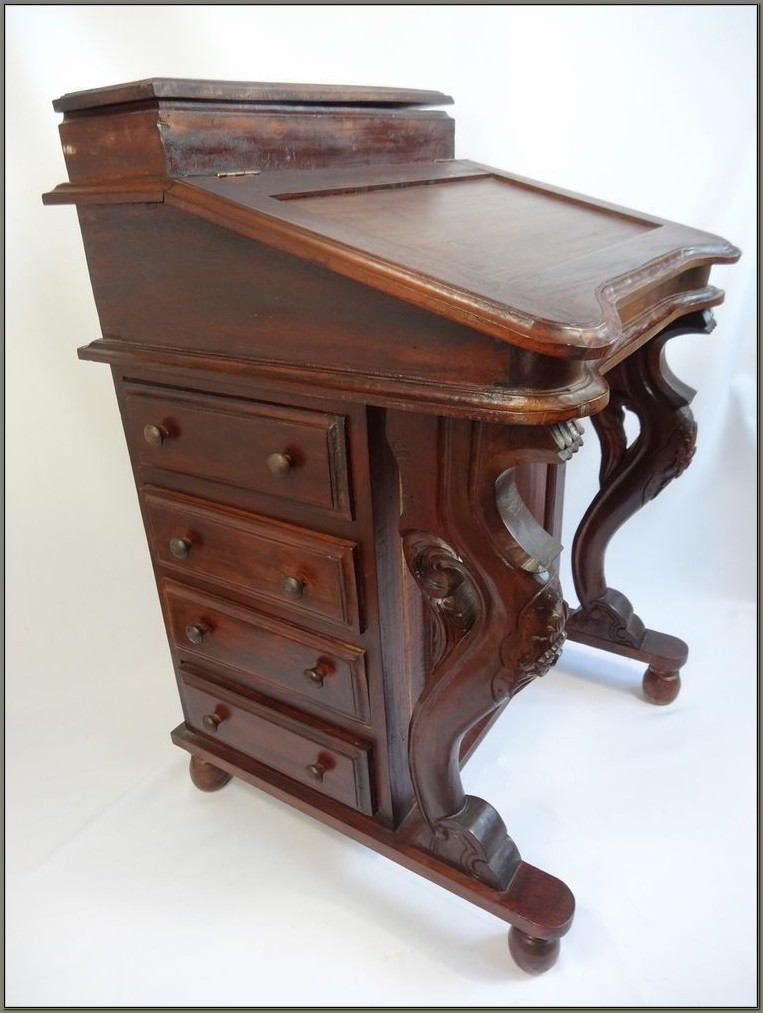Antique Davenport Writing Desk