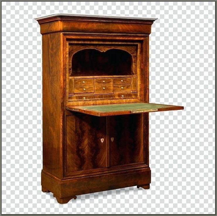 Antique Drop Front Secretary Desk Value