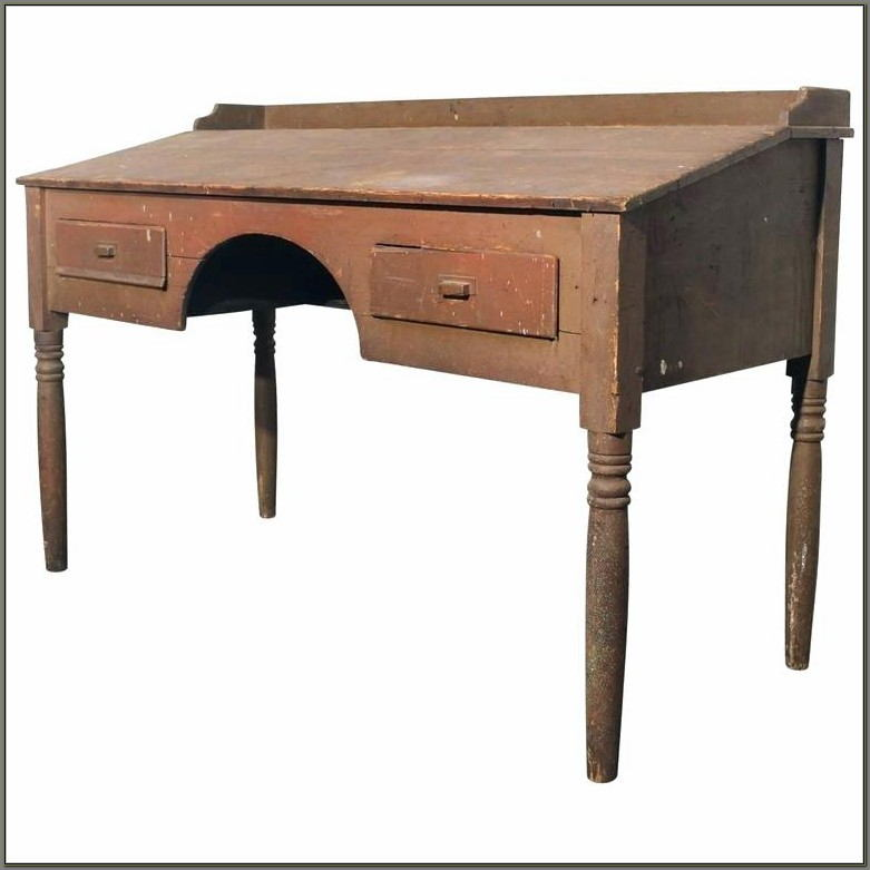 Antique Stand Up Writing Desk