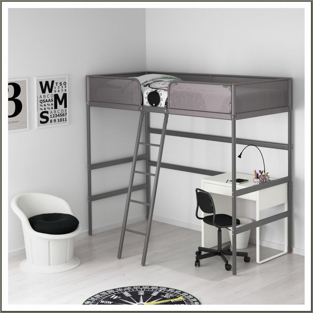 Bed And Desk Combo For Kids