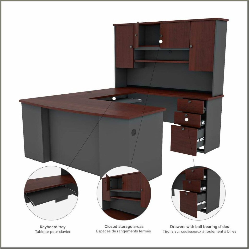Bestar U Shaped Desk