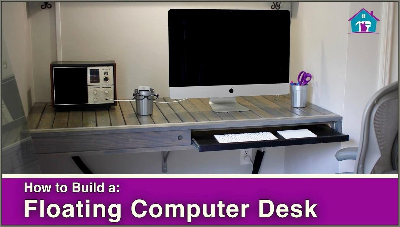 Build A Floating Desk