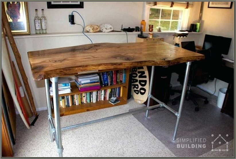 Build A Standing Desk Platform