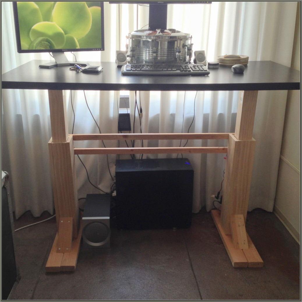 Build Your Own Adjustable Standing Desk