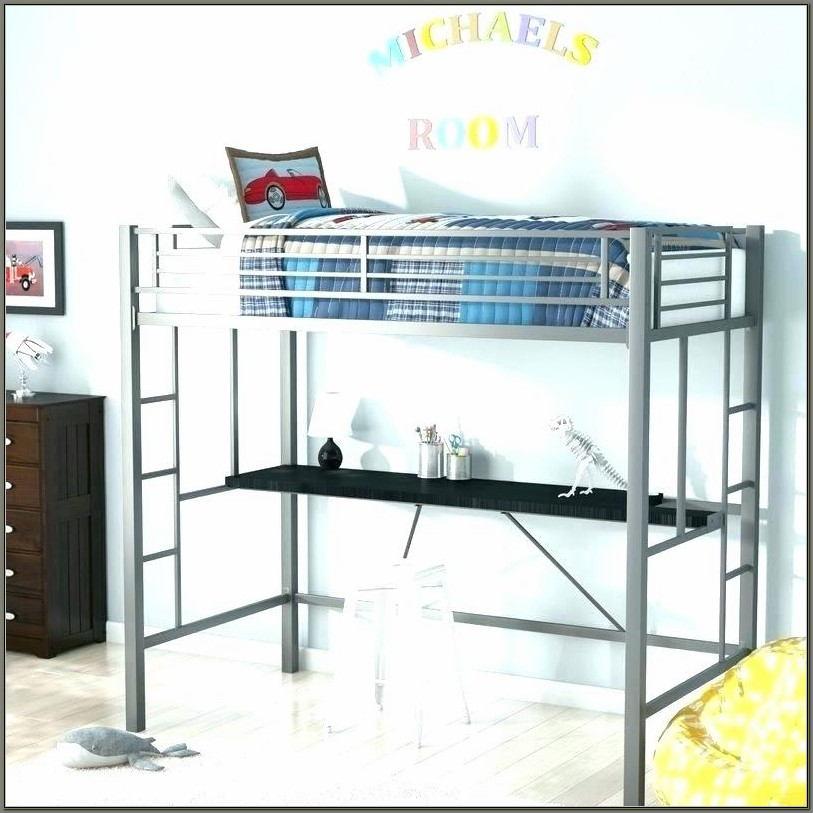 Bunk Bed With 2 Desks