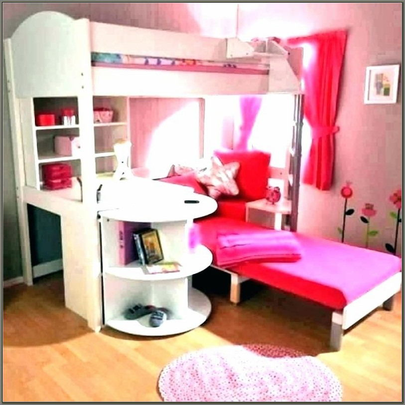 Bunk Beds With Desk For Girls