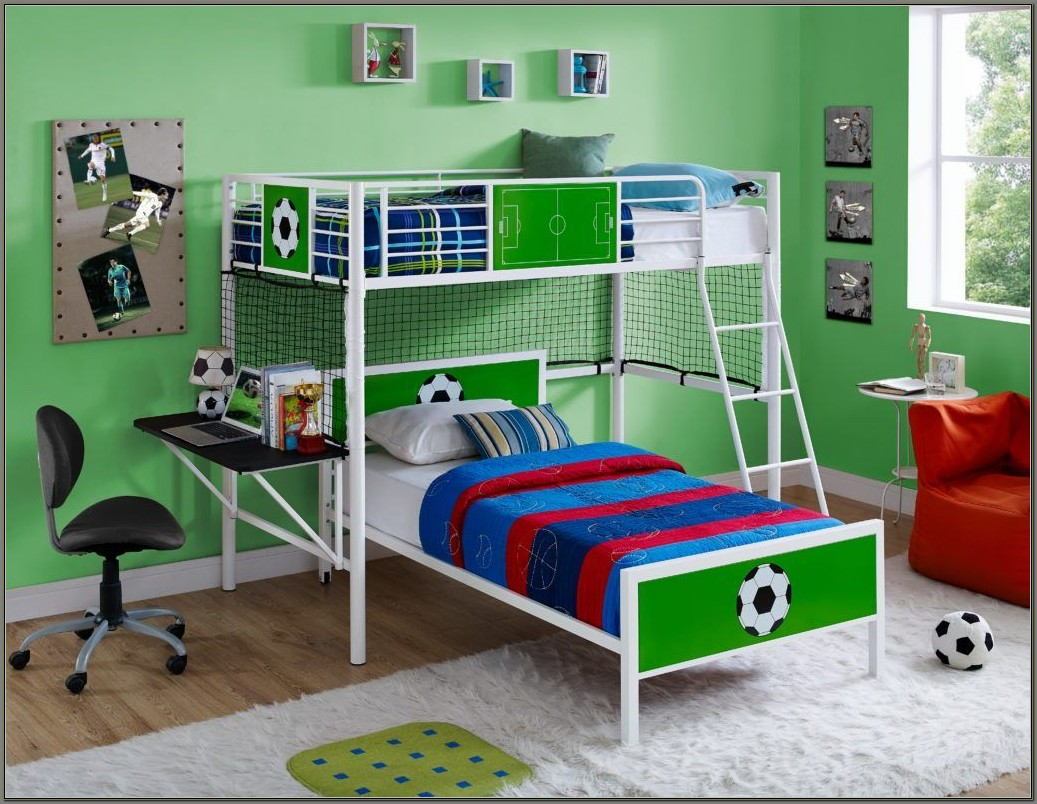 Bunk Beds With Desk Underneath For Sale