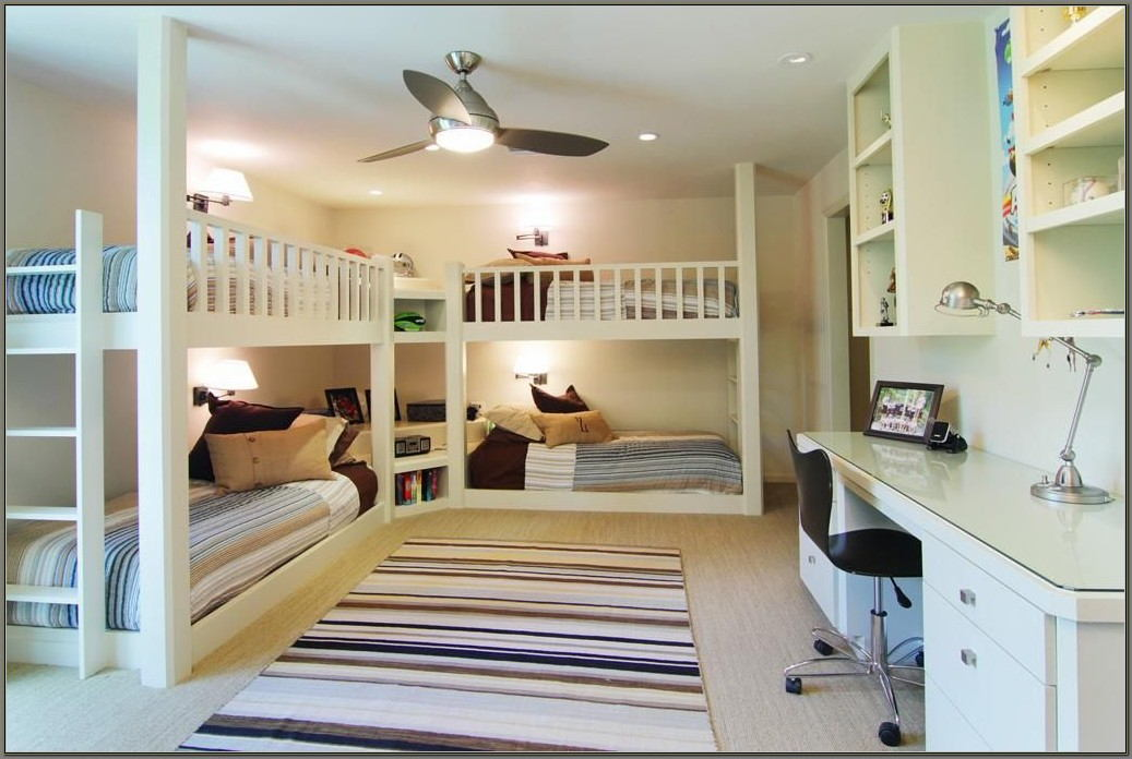 Bunk Beds With Desks Built In