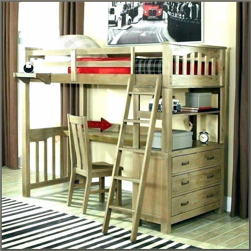 Bunk Beds With Desks For Girls