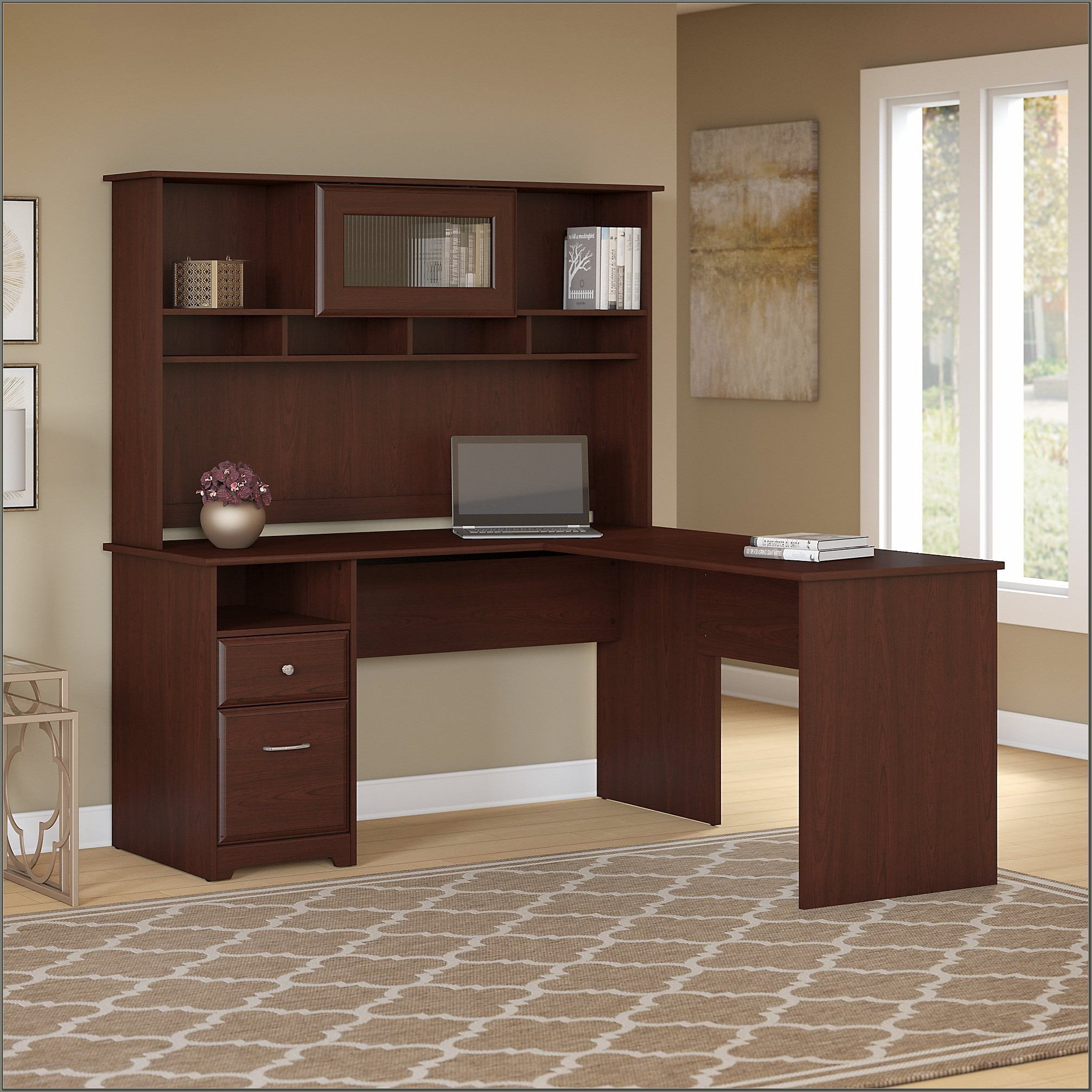 Bush Furniture Computer Desk With Hutch