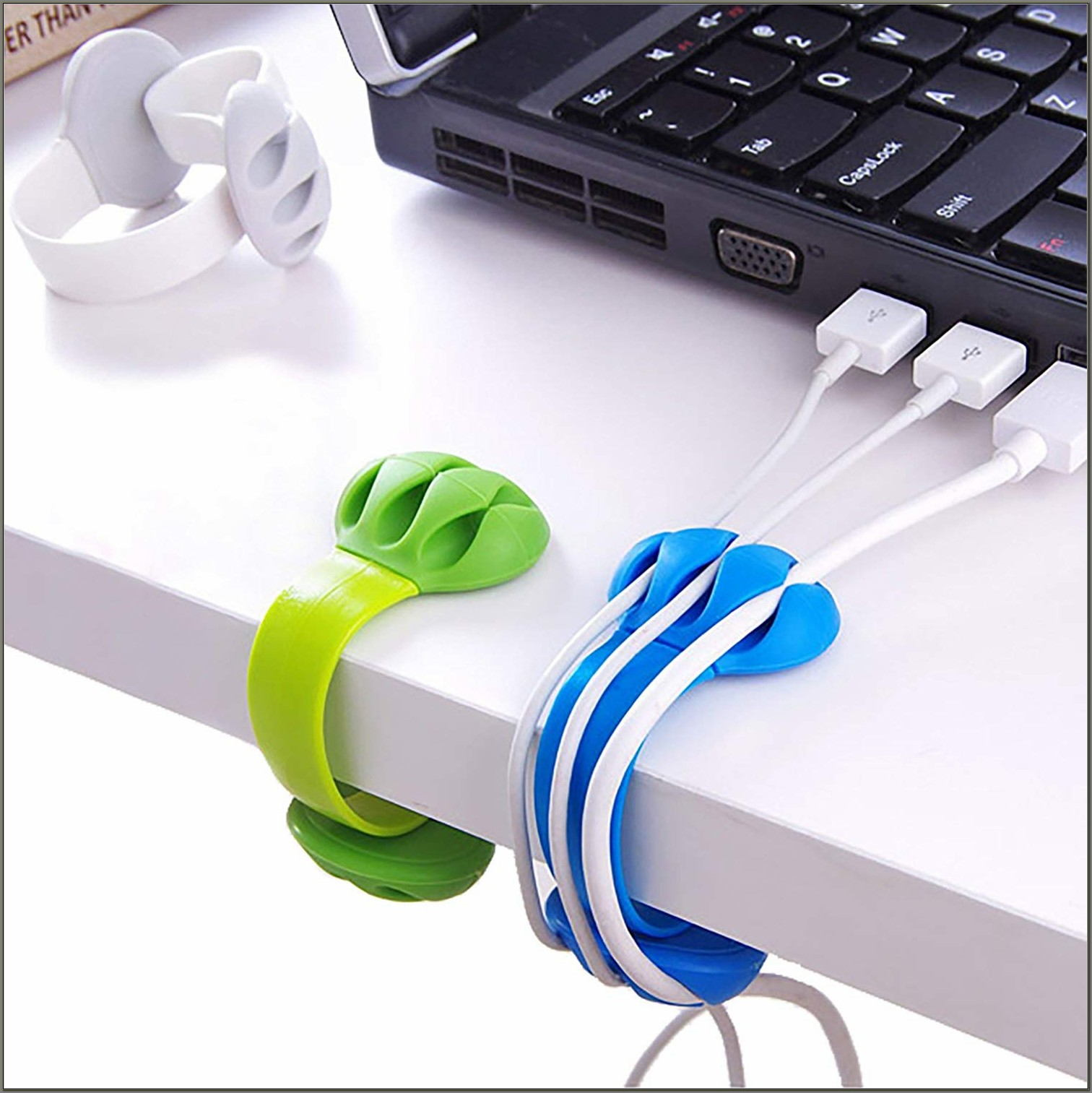 Cable Holder For Desk
