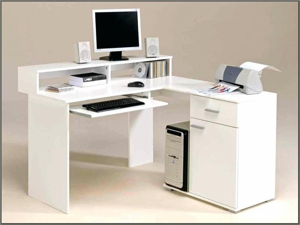 Cheap Corner Computer Desk With Hutch