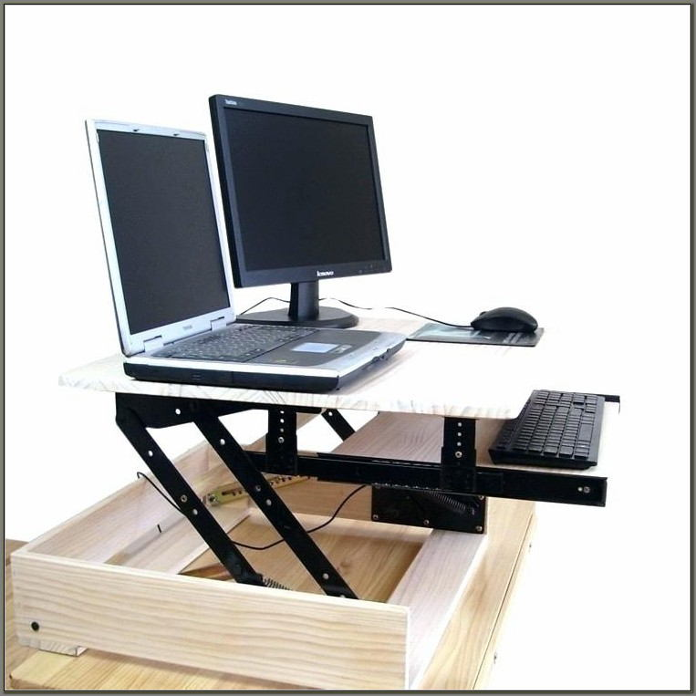 Cheap Sit Stand Desk Converter