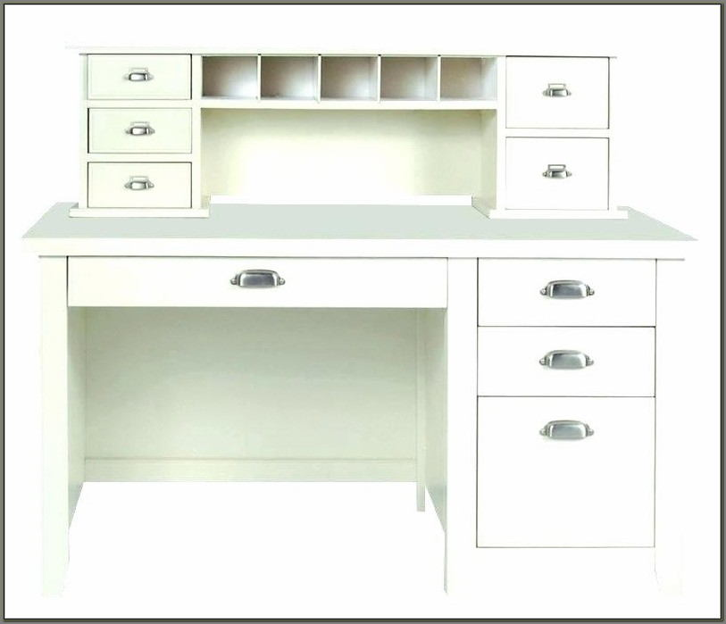 Cheap White Desk With Hutch