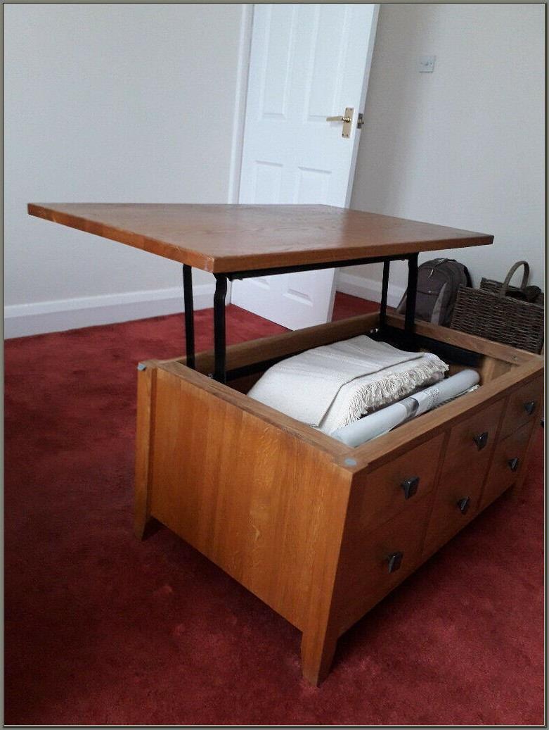 Coffee Table Desk Convertible