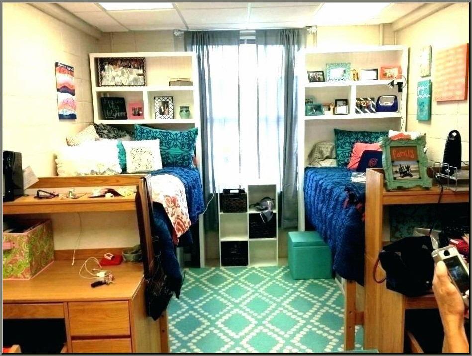 College Dorm Desk Hutch