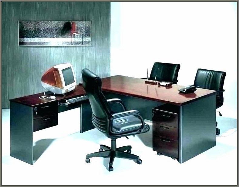 Compact Computer Desk With Printer Shelf
