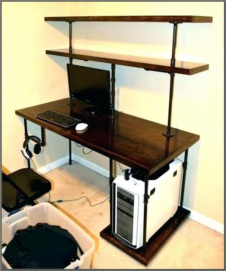 Computer Desk With Bookshelf Ikea