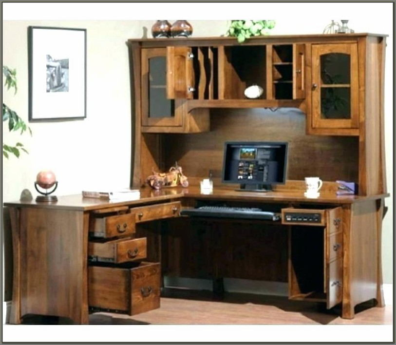 Computer Desks With Hutch For Sale
