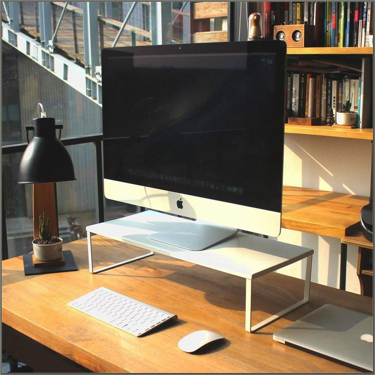 Computer Monitor Shelf For Desk