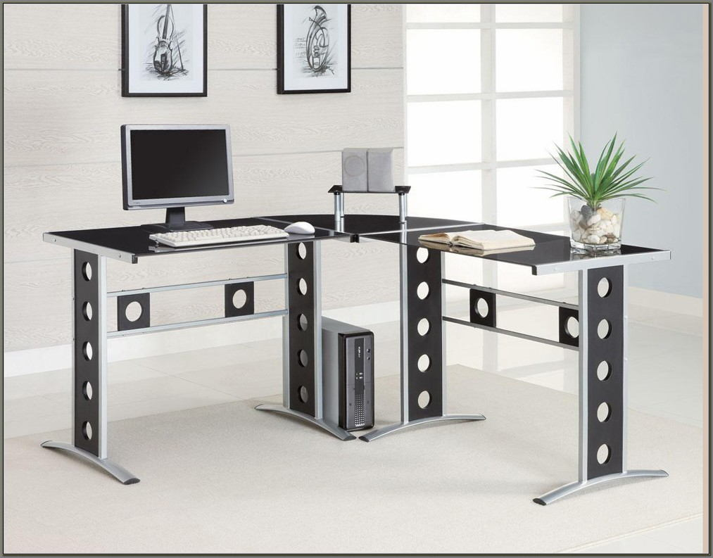 Contemporary L Shaped Desks