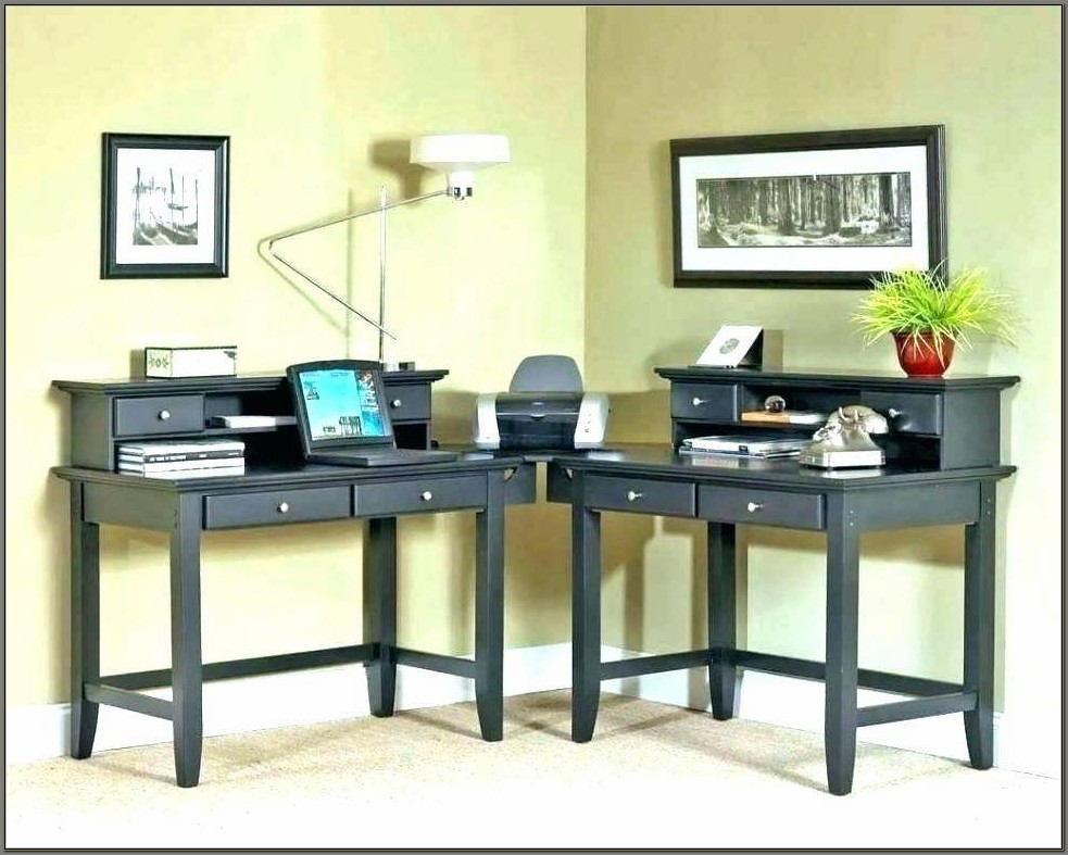 Corner Computer Desk Dual Monitor