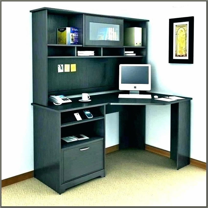 Corner Computer Desks With Hutch