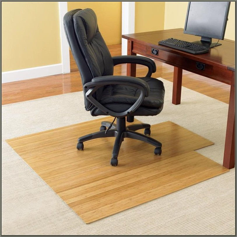 Corner Desk Chair Mat For Carpet